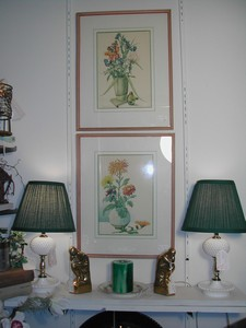 Pair of Laurence Perugini Water Color Prints